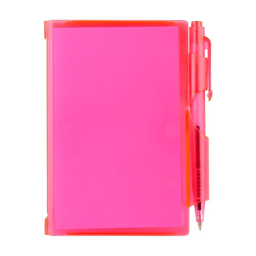 HL 2720 P block de notas con boligrafo rosa 1