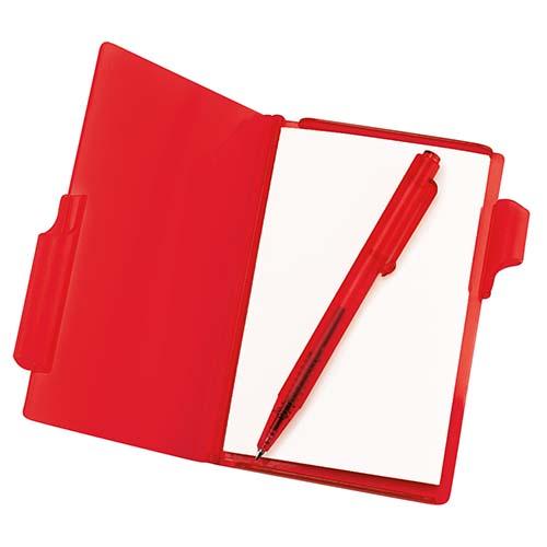 HL 2720 R block de notas con boligrafo rojo