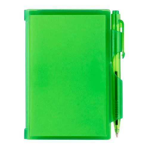 HL 2720 V block de notas con boligrafo verde