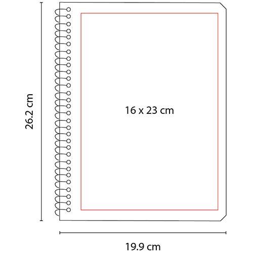 HL 2900 R cuaderno profesional color rojo 3