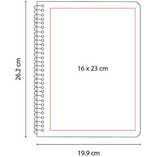 HL 2900 Y cuaderno profesional color amarillo 3