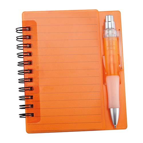 HL 6000 O libreta fun work color naranja 1