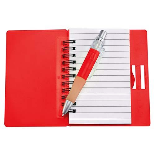 HL 6000 R libreta fun work color rojo 1