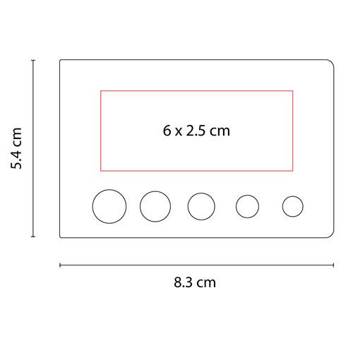 HL 6010 BE porta notas truskavet color beige 3