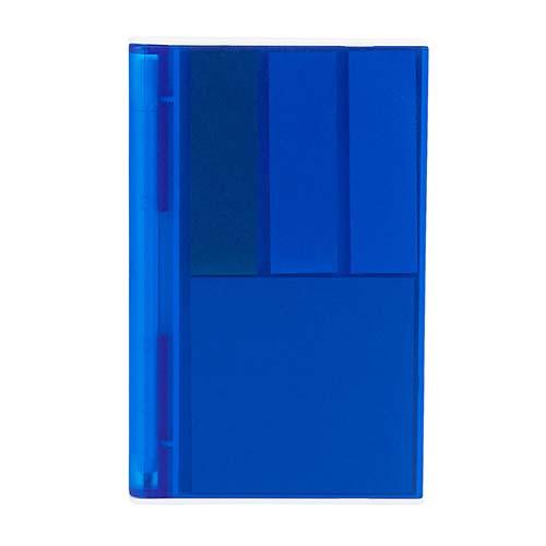 HL 6035 A porta notas ventall color azul 1