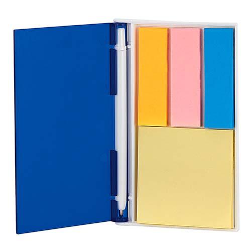 HL 6035 A porta notas ventall color azul 2
