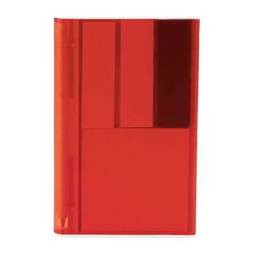HL 6035 R porta notas ventall color rojo 1