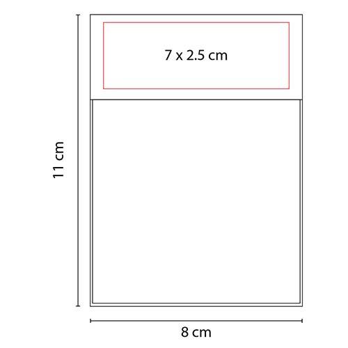HL 6560 R block de notas addar color rojo 2