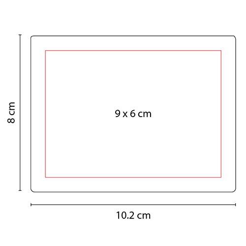HL 6570 R porta notas andes color rojo 2