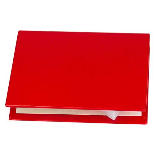HL 6570 R porta notas andes color rojo 3