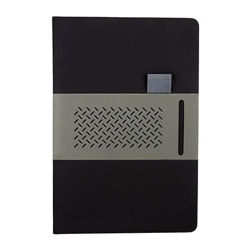 HL 9015 N libreta quercus color negro 1