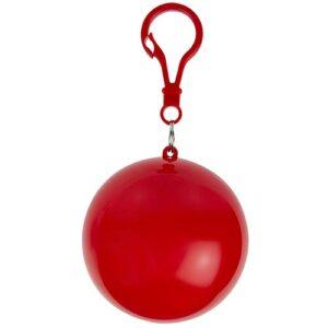 IMP 001 R impermeable grisel color rojo