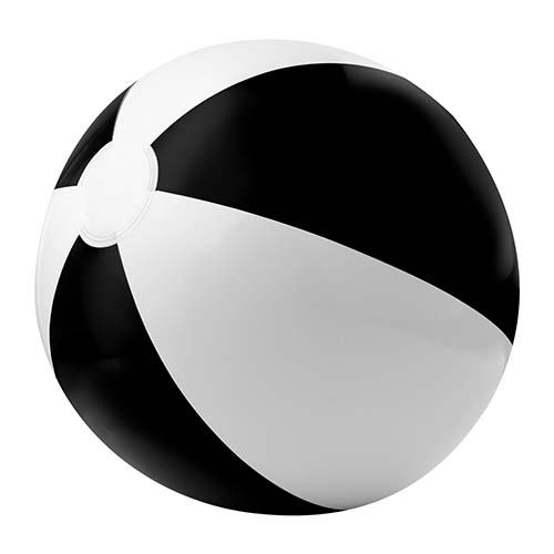 INF 015 N pelota de playa color negro