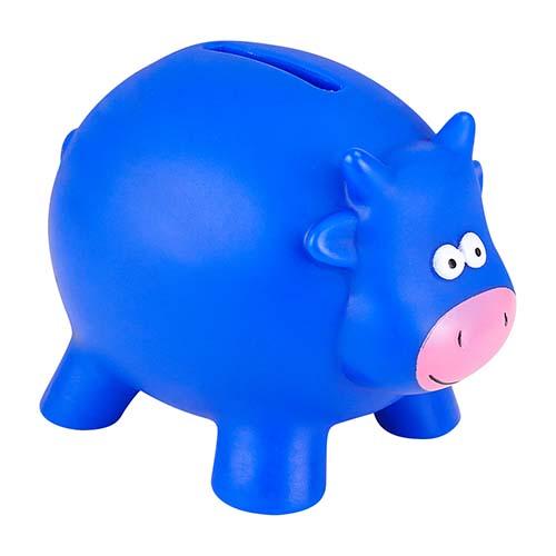 INF 045 A alcancia cow color azul