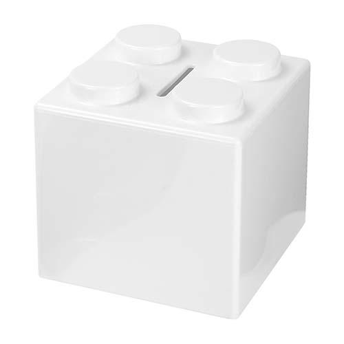 INF 100 B alcancia cubos color blanco 3