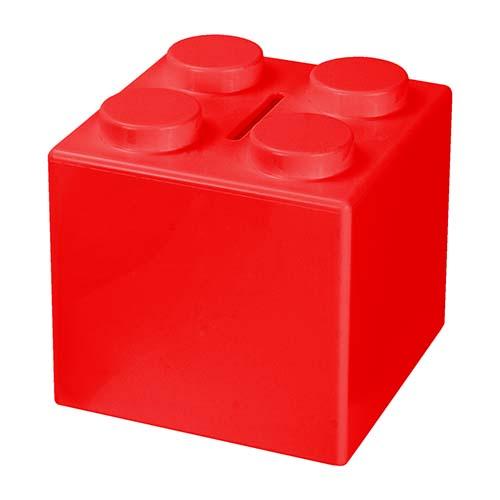 INF 100 R alcancia cubos color rojo 4