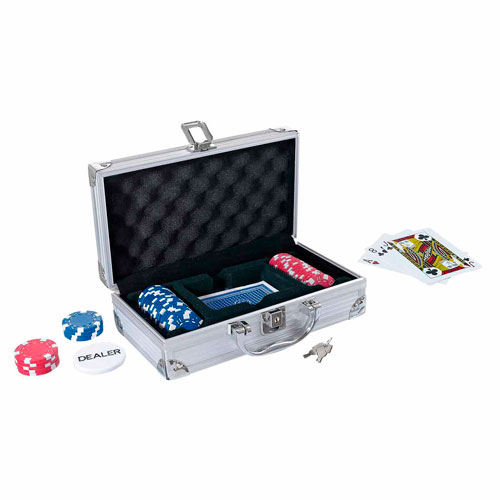 JM 014 mini maletin de poker lucky
