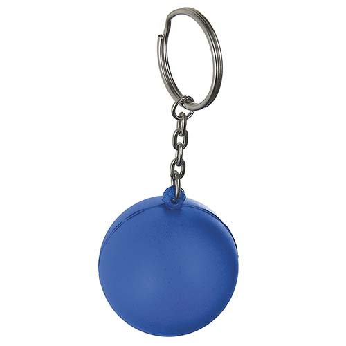 K 100 A llavero anti stress color azul 1