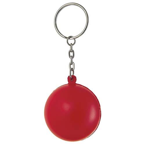 K 100 R llavero anti stress color rojo 3