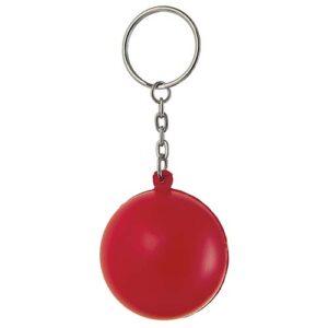 K 100 R llavero anti stress color rojo