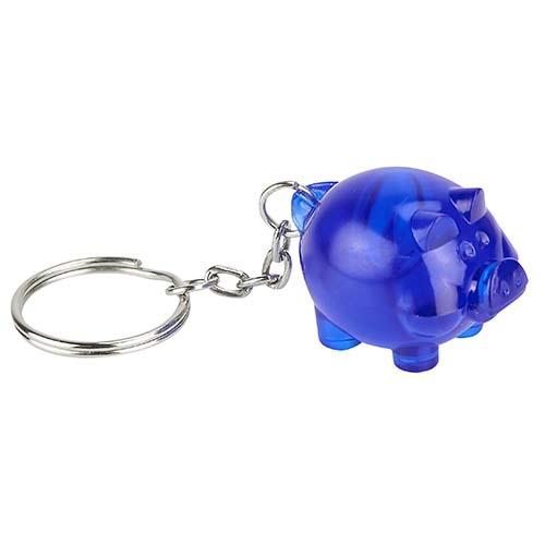 K 700 A llavero cochinito color azul 3