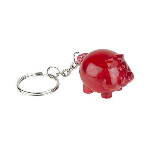 K 700 R llavero cochinito color rojo