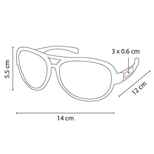 LEN 002 N lentes slana color negro translucido 2