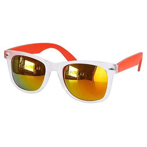 LEN 005 O lentes mirror color naranja