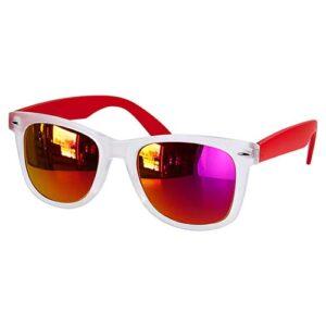 LEN 005 R lentes mirror color rojo