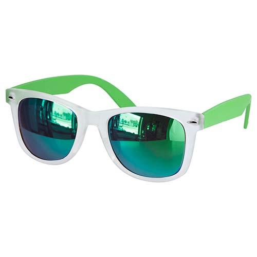 LEN 005 V lentes mirror color verde 3