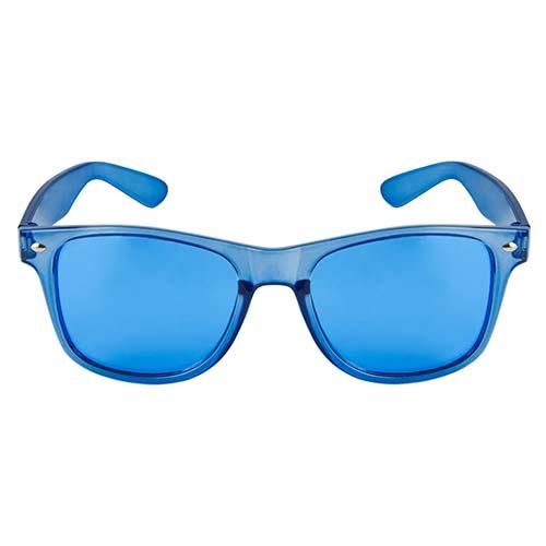 LEN 006 A lentes maroni color azul 1