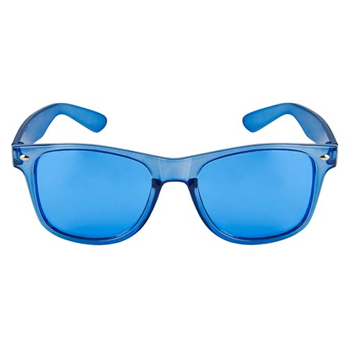 LEN 006 A lentes maroni color azul 4