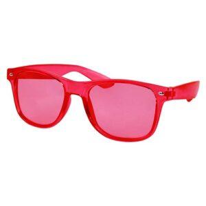 LEN 006 R lentes maroni color rojo