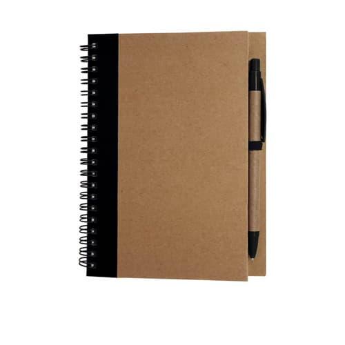 Libreta de papel reciclado con-2