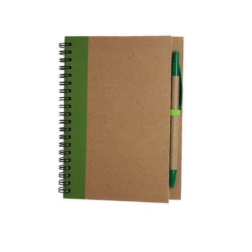 Libreta de papel reciclado con-4