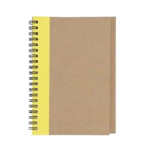 Libreta de papel reciclado con-6