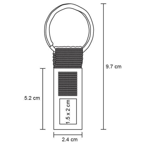 Llavero metálico con ventanilla y arillo-4
