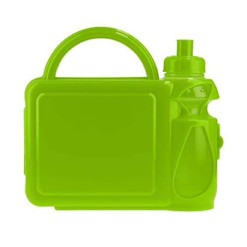 Lonchera de plástico con cilindro. Cap.-3