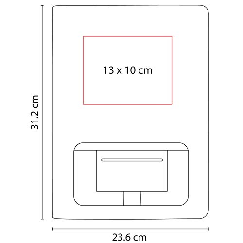 M 6030 N carpeta nirou color negro 5