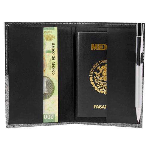 M 80122 N porta pasaporte broome color negro 2