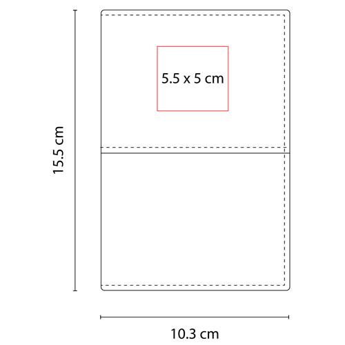 M 80122 N porta pasaporte broome color negro 4