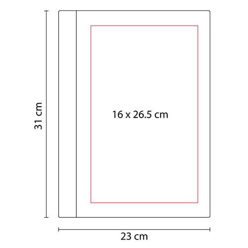 M 80230 R carpeta skin color rojo 3