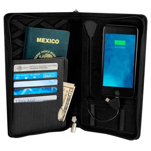 M 80520 N porta pasaporte cargador reis 2
