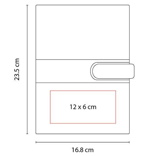 M 80900 N libreta louisiana color negro 2