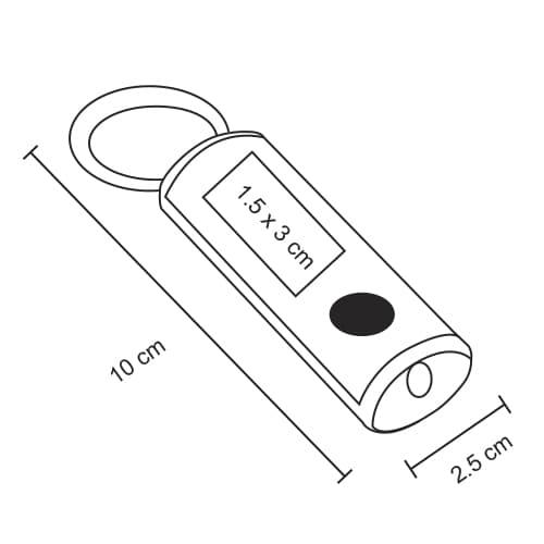 Mini lámpara de aluminio