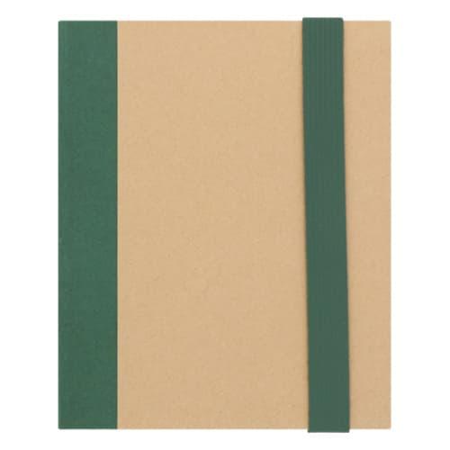 Mini libreta ecológica con 5 tiras de-4