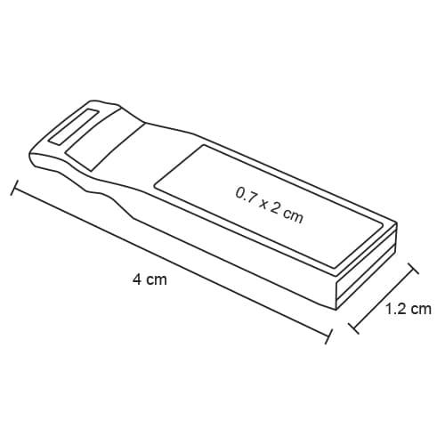 Mini memoria USB con cuerpo metálico.-2