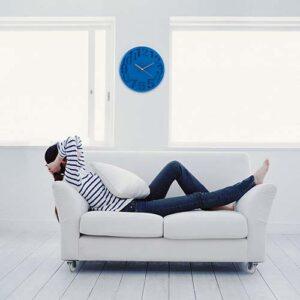 MK 110 A reloj zeit color azul