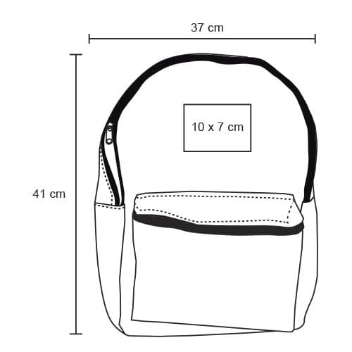 Mochila tipo back pack con bolsa-6