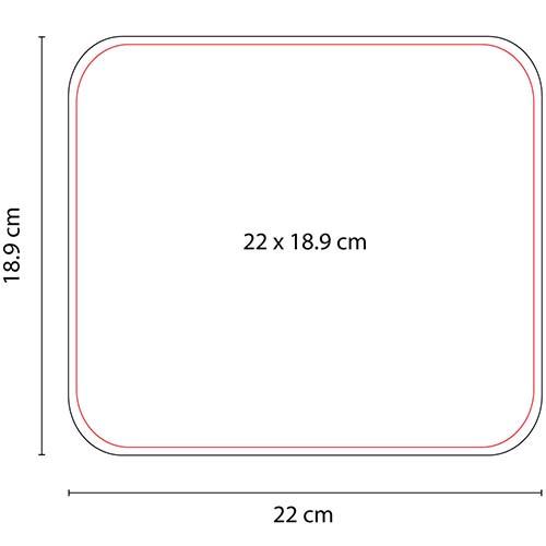 MOP 002 V mouse pad rectangular color verde 2